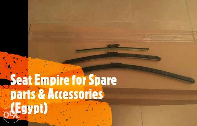 Seat leon front & rear wipers