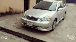 Clean Trim tokunbo 2004 Sport Toyota Corolla