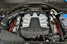Audi 3.0 tfsi v6 supercharged engine