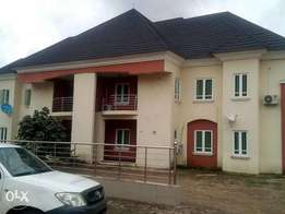 Two duplex for sale at New Owerri. Each duplex is a twin duplex , and