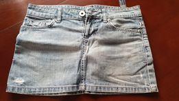 Spódnica jeansowa Zara Zielonki • OLX.pl