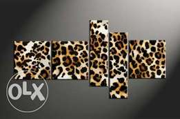 leopard skin painting