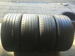 Range of assorted 17' and 18' inch tyres for sale