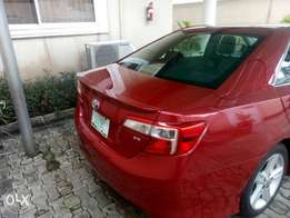 A very distinctive 2013 Toyota Camry SE. Accident free