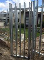 Vibracrete walls and extensions, palisade fences, gates and spikes