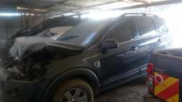 Chevrolet CAPTIVA KBX with front damage