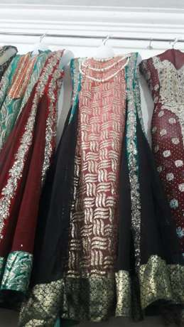 Indian pakistani suits bedshèets wedding heavy stones suits Makadara - image 8