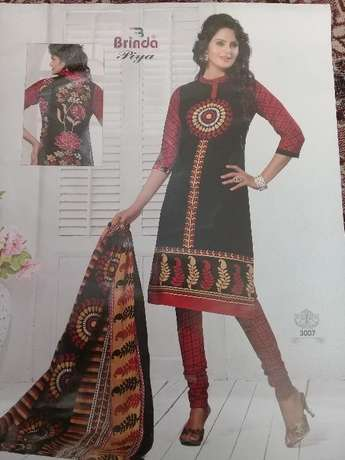 Brinda cotton salwar suit 3 pices Mombasa Island - image 1