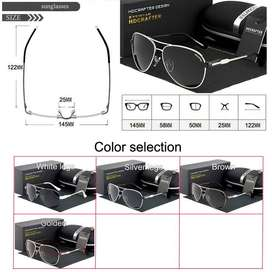 d7ecda9aae HDCRAFTER Men Fashion UV 400 Polarization Sunglasses
