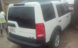 Good LR3. White Colour 2007 Model