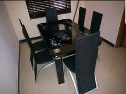 Dining table by6 black t998
