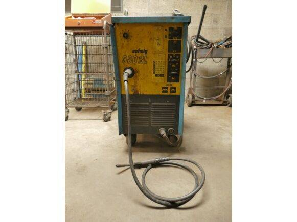Safmig 380 BL welding equipment for sale by auction