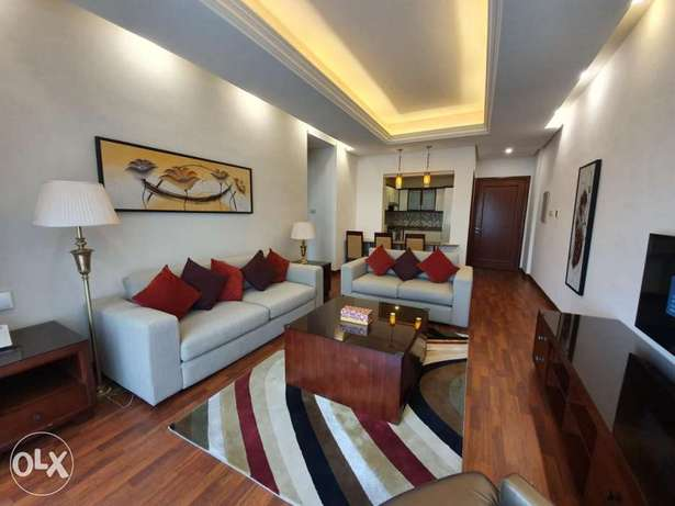 1&2 bedrooms furnished in jabria for expats only