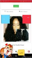Diamond curl 100% virgin double drawn hair