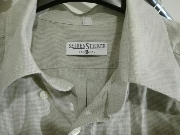 39bf71e135eb0b Koszule męskie, firmowe, rozmiar L, 8 sztuk Sanok - image 6