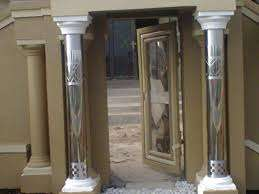 Stainless column cover
