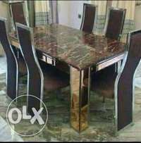 Durable 6-Seater Dining Table