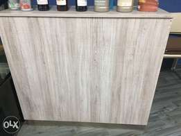 MDF counter (2 counters - pg bison ) white oak