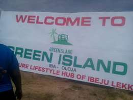 Plots of Land for sale in Green Island Estate, Ibeju Lekki