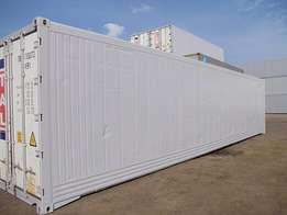 Used Reefer Storage Tanks in great condition.