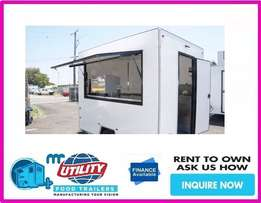 Mr Utility Food Trailers - Rent To Own Options Available