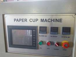 Paper small cup, big cup and bucket machine