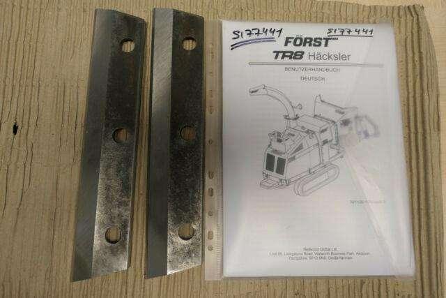 Kubota Först Tr8 Häcksler, Schredder, Buschhaker, Kette - image 7
