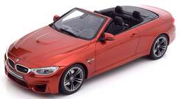 BMW M4 F83 Cabriolet metallic orange Concealed resin model 1:18 - NEW