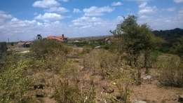 An 1/8 plot for sale in twala rongai