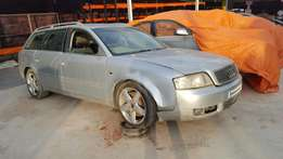 Audi A6 2.5tdi breaking for spares