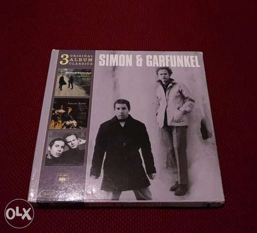Simon & Garfunkel - 3 Original Album Classics - 3 CDs
