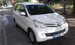 Toyota avanza 1.5 7 seater very clean 2014 model