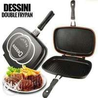 Double Non Stick Grill Pan