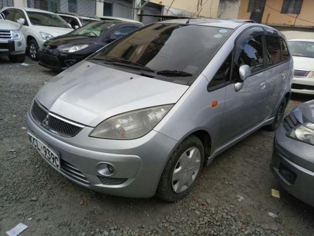 Mitsubishi colt plus KCM number 2010 model loaded with alloy rims Mombasa Island - image 5
