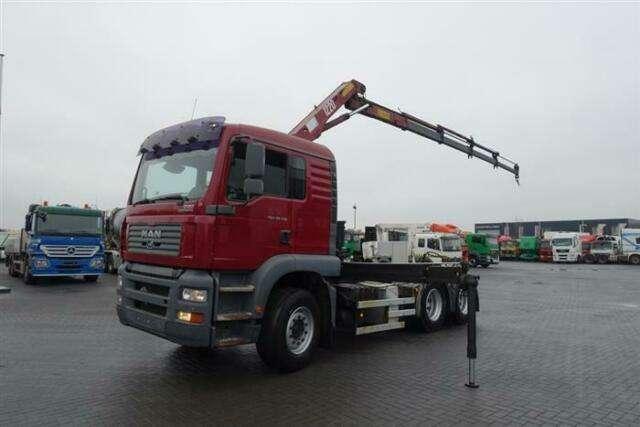 MAN Tga28.310 6x2 Crane/kran Hmf 1220 K4 Ual Euro - 2006