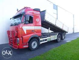 Volvo Fh16.700 6x2 Dumper Euro 5 Globe Xl - To be Imported