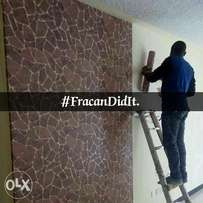 Wallpaper. Trust our team of professional installers. Book us Now.