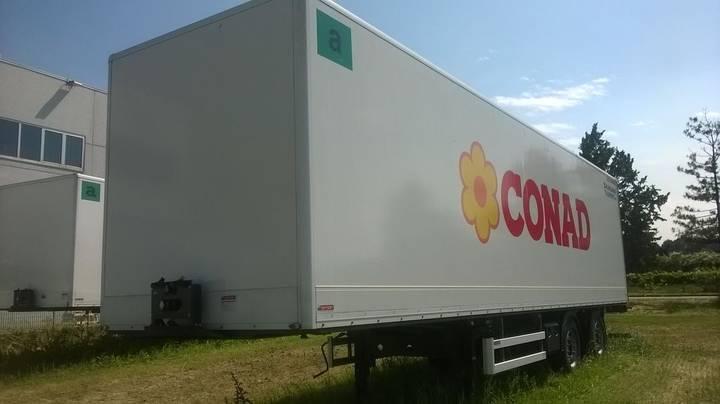 Box omar  30b211 closed  semi-trailer - 2016