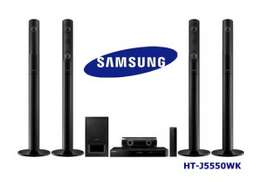 Deeper sounds of the Samsung HTJ5550 blu ray home theater system