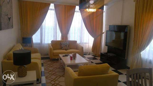 Sea views furnished 3 bedroom in mangaf.