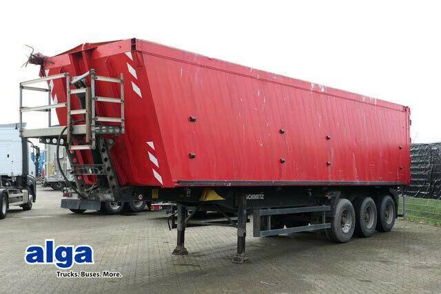 Schmitz Cargobull SKI 24, Alu Mulde, 55m³, Plane, Kombitüren - 2009
