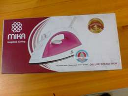 Mika deluxe steam iron