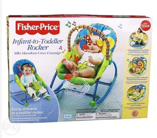 اقوي كرسي هزاز fisher price