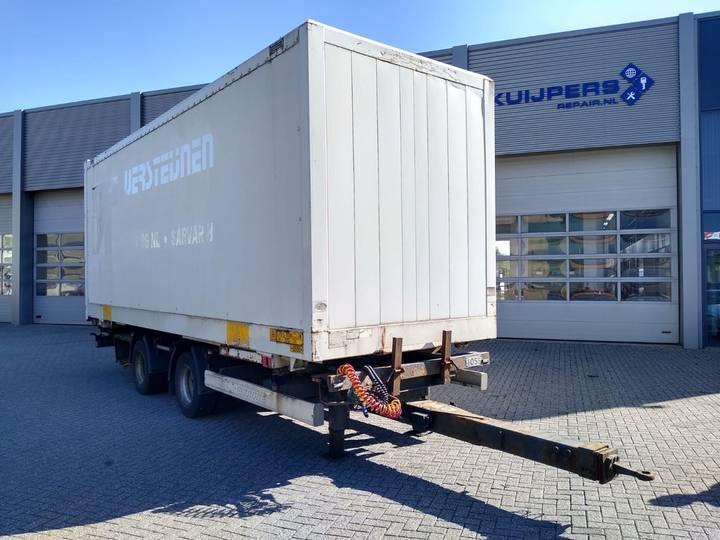 Krone ZZW 18 / BOX / TRAILER / BPW DRUM - 2006