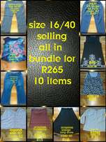 Size 16/40 lady clothes/kraaifontein