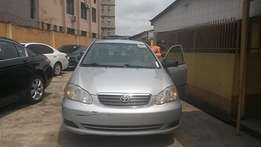 Toyota corolla CE super claen 2008, Tokunbo Buy & drive call to inspec