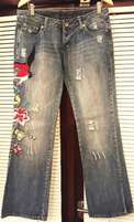 Embroidered Jeans - R80