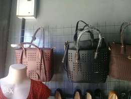 High quality Leather hand bags - 3 in one