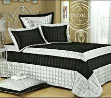 High Quality Leather Bedding Set 5PCS %100 Polyester