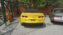 2013 Yellow Chevrolet Camaro